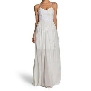 Dress the Population Asha Lace Chiffon Gown